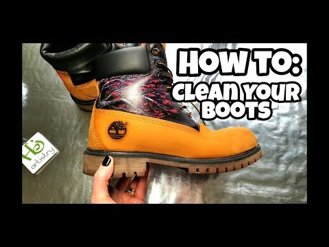 How To Clean Your Suede Boots - Custom Timberlands