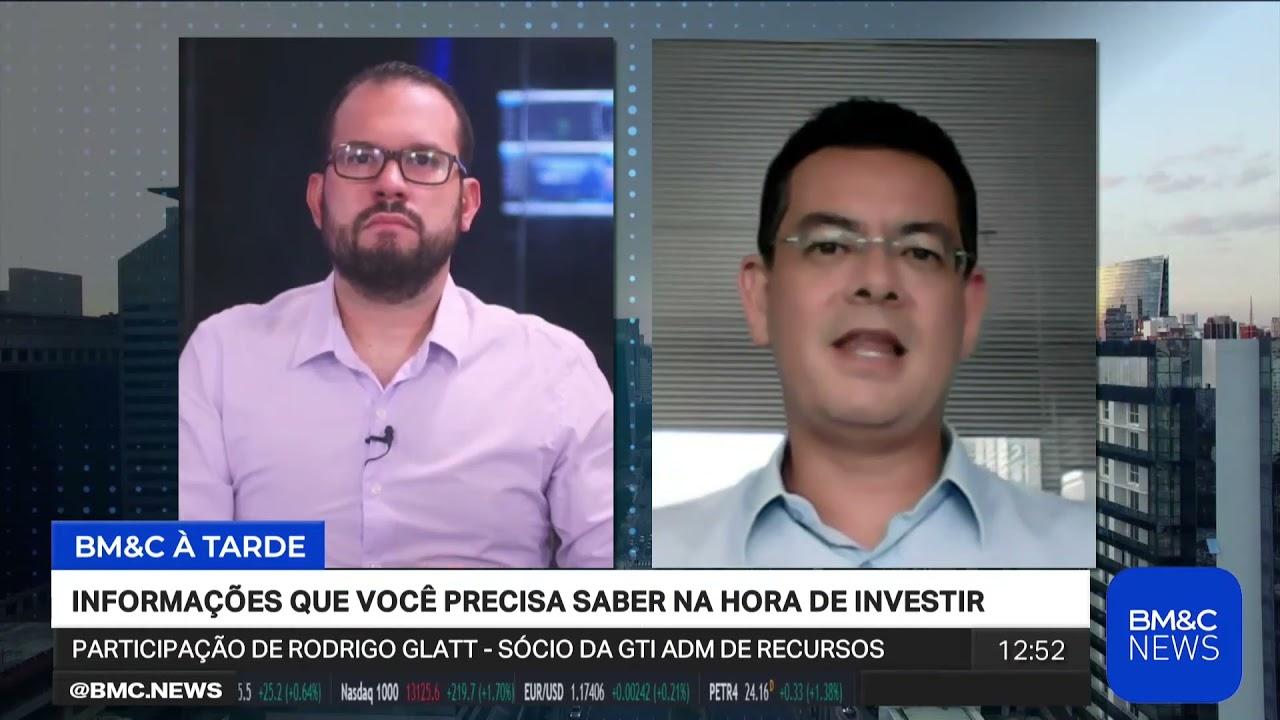 Rodrigo Glatt avalia cenário de Cielo (#CIEL3) na BM&C News
