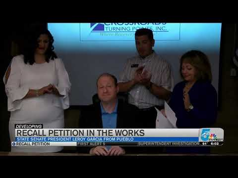 Recall Petition Approved For Senate President Leroy Garcia