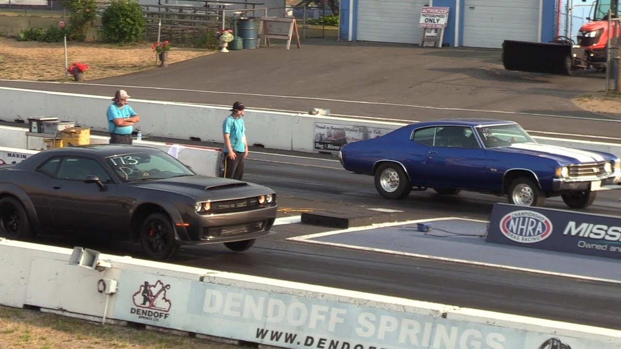 New Chevelle Ss >> Chevrolet Chevelle Ss Takes Dodge Demon In Drag Race Video Gm