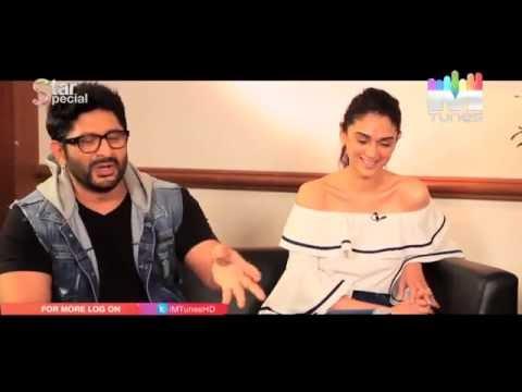 Arshad Warsi 's love story and Aditi Rao Hydari clarifies her rumours!