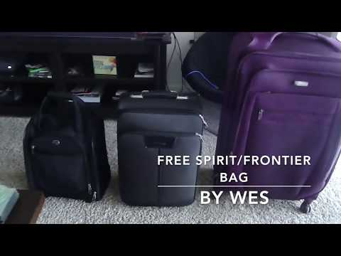 Spirit Airlines FREE Personal Item Bag