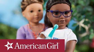 American Girl Archery Practice Stop Motion   American Girl