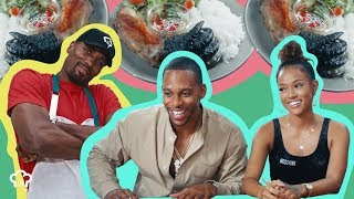 Serge Ibaka Serves Karrueche Tran, Victor Cruz Alligator Claws | How Hungry Are You?