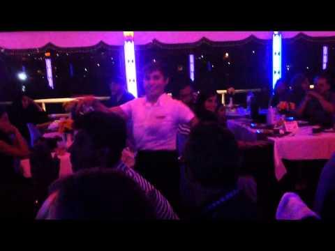 Soiré dans le bateau istambul
