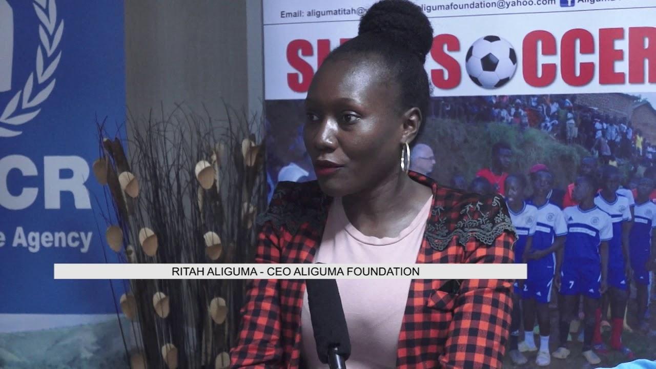 Aliguma's slum tournament boosted by UNHCR