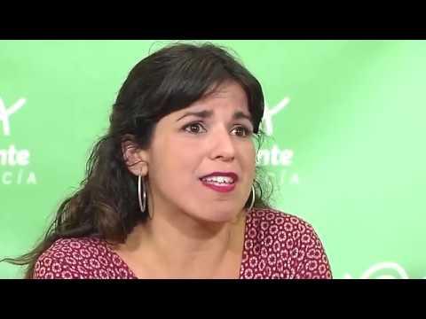 """Teresa Rodríguez: """"Peor que perder elecciones es asumir una vida sin derechos"""""""