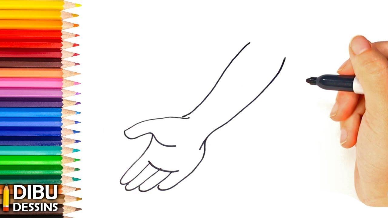 Comment dessiner un bras dessin de bras youtube for Comment dessiner des conceptions architecturales
