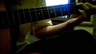 Воспоминания о былой любви Guitar Intro