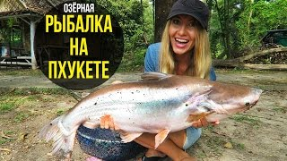 ОЗЁРНАЯ РЫБАЛКА НА ПХУКЕТЕ - ЛОВИМ ГИГАНТОВ, ТАЙЛАНД ☼(Озёрная рыбалка на Пхукете, экскурсию брали тут: http://www.phuket-cheap-tour.ru/ribalka_na_phukete_ozernaya.php - сегодня мы будем ловит..., 2017-03-05T12:59:51.000Z)