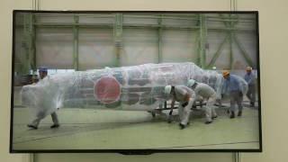 三式戦闘機「飛燕(ひえん)」II型を川崎重工業が復元