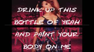 KAT GRAHAM-PUT YOUR GRAFFITI ON ME (KARAOKE VERSION)