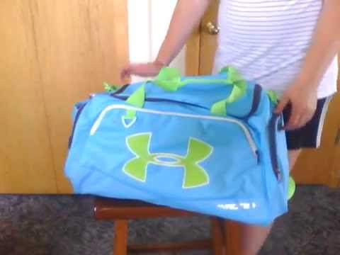 90ae392684 Under Armour Undeniable Storm MD Duffle - YouTube