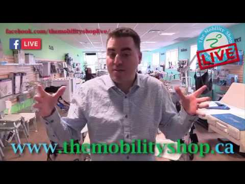 The Mobility Shop LIVE - FREE CANE OFFER