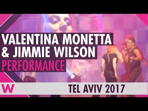 "Valentina Monetta & Jimmie Wilson ""Spirit of the Night"" (San Marino 2017) LIVE @ Israel Calling 2017"