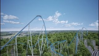 Kings Island announces ORION giga coaster with 300 foot drop