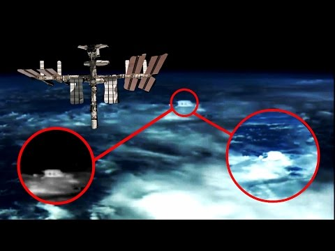 New UFOs video Bizarre Space ship NASA cuts HD live space feed Ufo sighting Space Station ISS