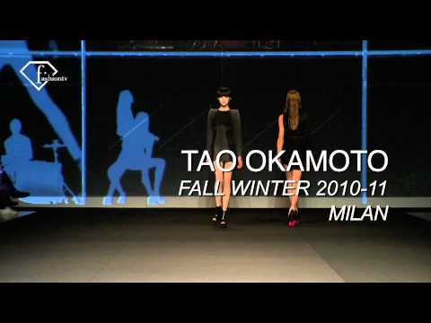 fashiontv | FTV.com - MARINA LYNCHUK + TAO OKAMOTO  MODELS WOMAN  FALL/WINTER 2010