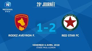Rodez vs Red Star full match