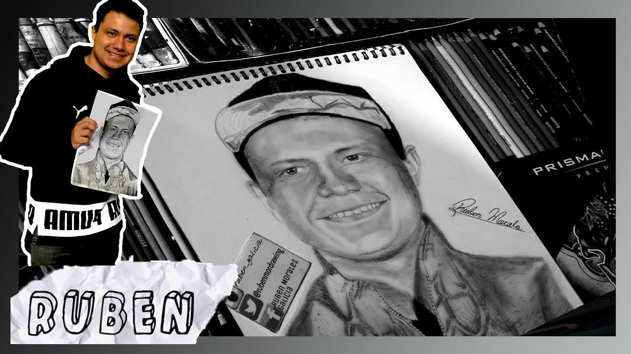 Dibujando a Luisito Rey  Ruben Morales  YouTube