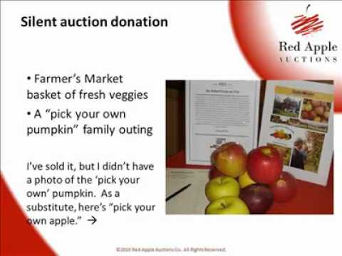 Fundraising Auction Ideas .... using Vegetables