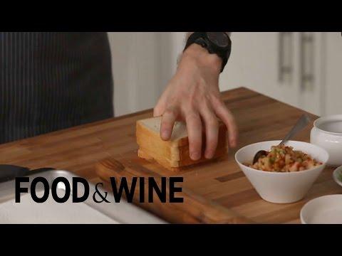 Make Deep-Fried Spring Rolls with Sandwich Bread
