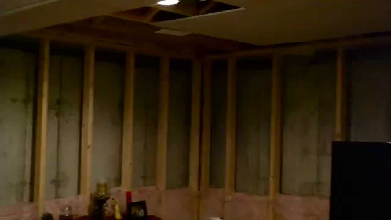 Mold On Basement Walls, Cause And Cure