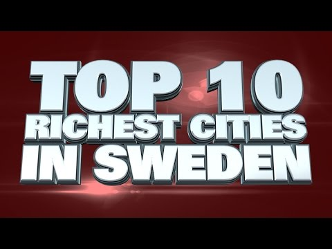 10 Richest Cities in Sweden 2015