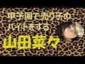 甲子園で売り子のバイトをする山田菜々【NMB48】 の動画、YouTube動画。