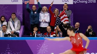 Rippon, Nagasu lead US to medal in team figure skating