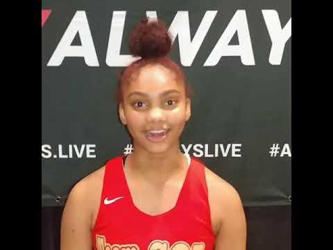 Sameera Smith (Team Sol/Eleanor Roosevelt HS/Greenbelt, Maryland) 2022 5'4 PG