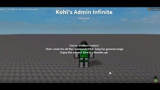 [2018] How To Add Free Admin Commands To Your ROBLOX Game | Full Tutorial