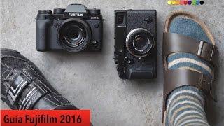 Guía de cámaras Fujifilm 2016: ¿Qué cámara me compro?