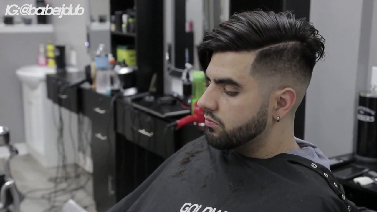 Mid Bald Fade W Combover Tutorial Barberjdub Youtube