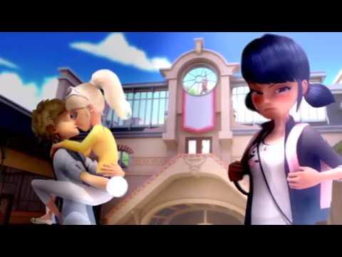 Miraculous Ladybug - Speededit: Chloe kissing Adrien