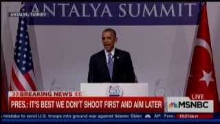 Obama Grows Agitated With Reporters: