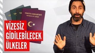 Türkiye'den Vizesiz Gidilebilecek Ülke Önerileri (2018)