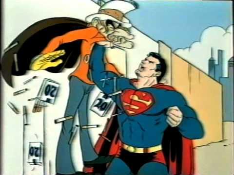 "Superman ""Never Say Yes to a Cigarette"" Anti-Smoking Advert - Eric Goldberg / Richard Williams"