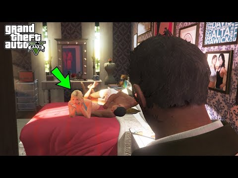 What Happens If You Catch Franklin and Tracey in GTA 5? (Trevor Caught Them)