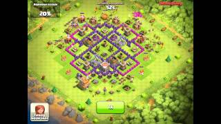 Clash Of Clans Amazing Raid [875K]