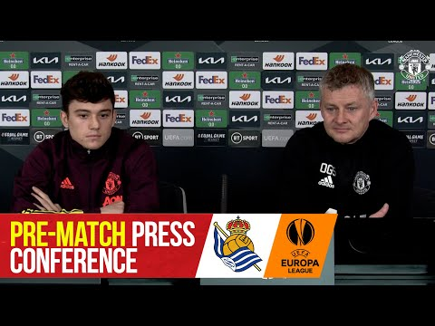 Pre-Match Press Conference | Manchester United v Real Sociedad | UEFA Europa League
