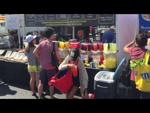 Hollywood Farmers' Market 7-23-17