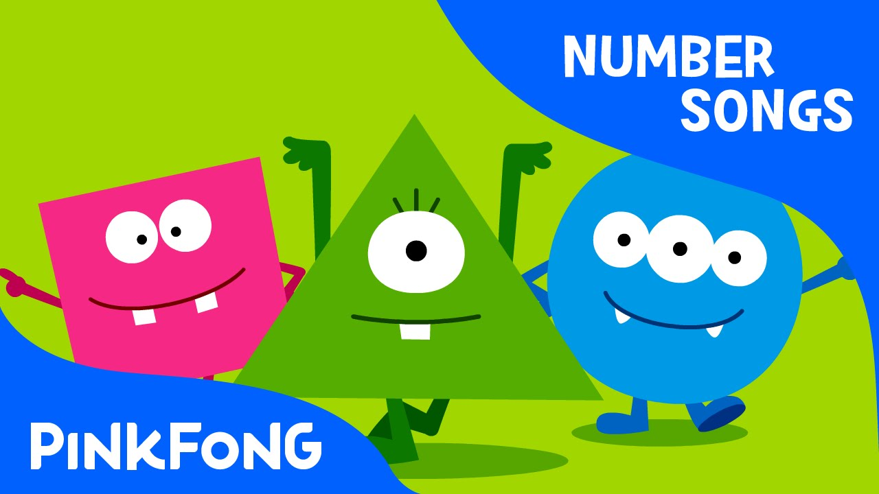 Shape Monsters Number Songs Pinkfong Songs For