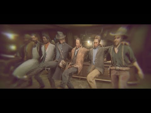Arthur Gets Drunk with Lenny Funny Moment - Red Dead Redemption 2 (A Quiet Time Mission)