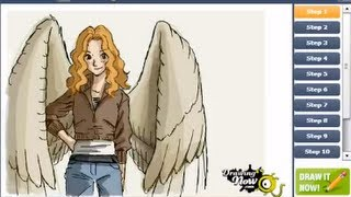How to draw Maximum Ride