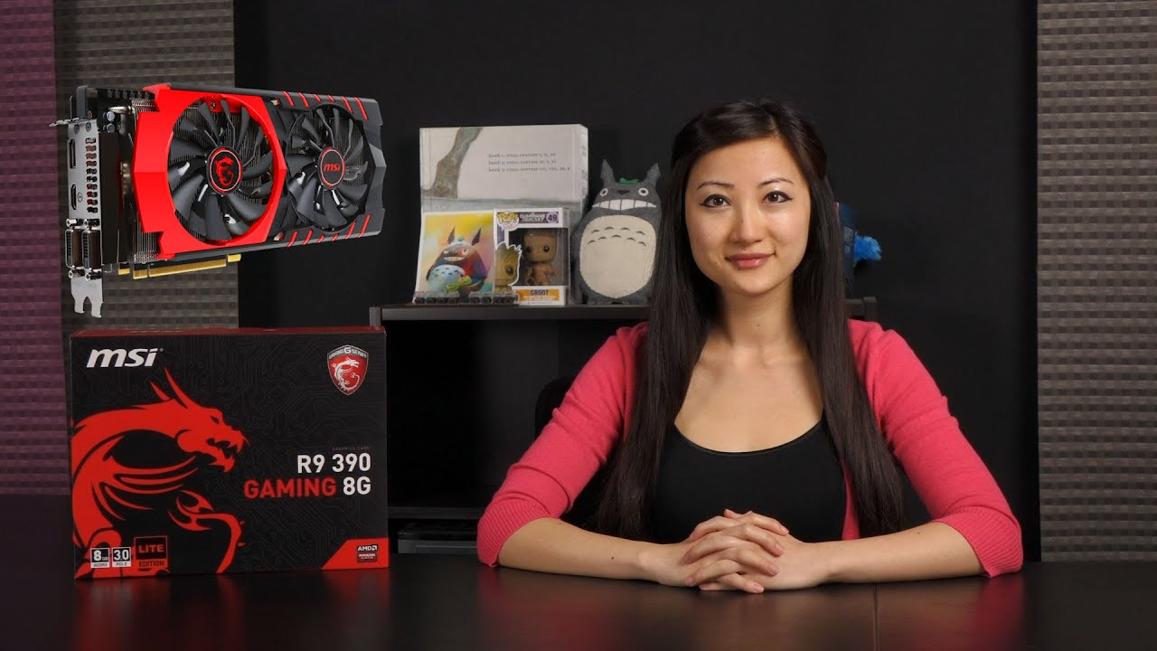 MSI R9 390 Gaming 8G Graphics Card: Lite Edition: Overview
