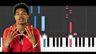 Lil Baby, Gunna - Close Friends (Piano Tutorial)