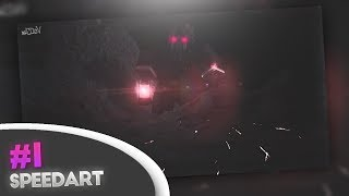 """Alone"" | Roblox GFX Art Speedart"