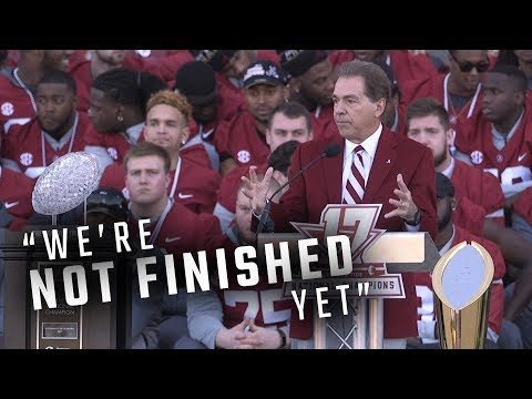 AL.com All-Access: How many more parades for Nick Saban and Alabama?