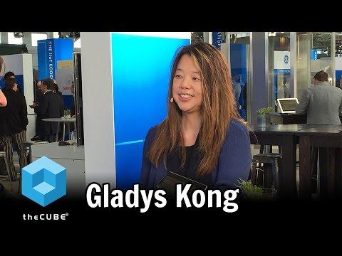 Gladys Kong, UberMedia - GE Minds + Machines - #GEMM16 - #theCUBE